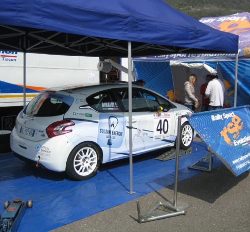 Assistenza in campo gara con officina mobile anche per piloti con vetture di proprietà